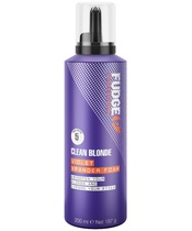 Fudge Clean Blonde Violet Xpander Foam 200 ml