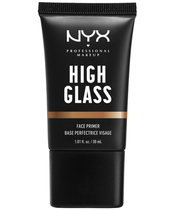 NYX Prof. Makeup High Glass Face Primer 30 ml - Sandy Glow