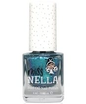Miss NELLA Nail Polish 4 ml - Blue Metal