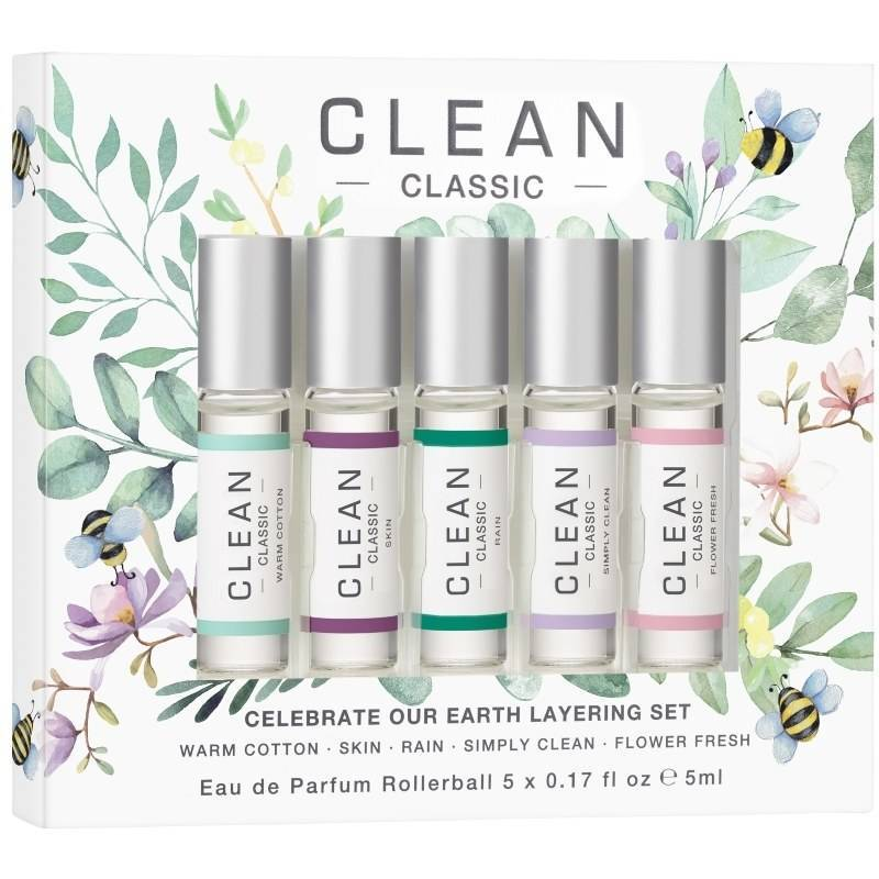 Clean Perfume Celebrate Our Earth EDP Set 5 x 5 ml (Limited Edition) thumbnail
