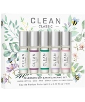 Clean Perfume Celebrate Our Earth EDP Set 5 x 5 ml (Limited Edition)