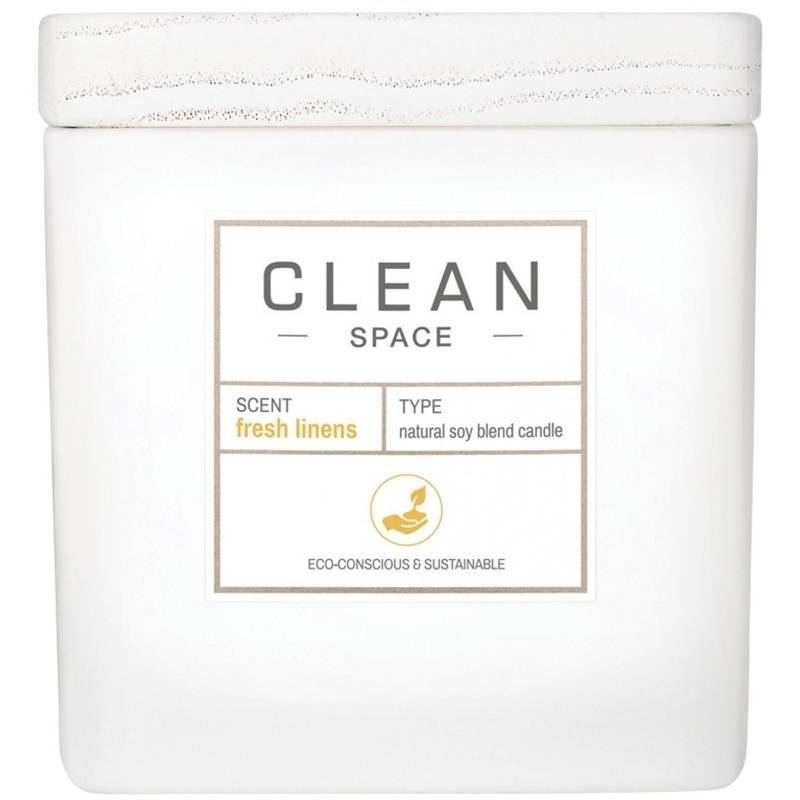 Clean Perfume Space Fresh Linens Candle 227 gr. thumbnail