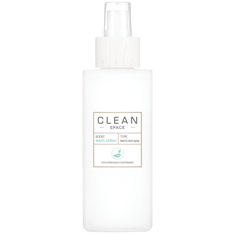 Clean Perfume Space Warm Cotton Linen & Room Spray 148 ml thumbnail