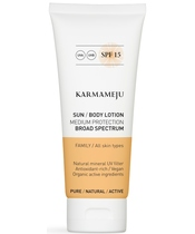 Karmameju SUN Body Lotion SPF 15 - 100 ml