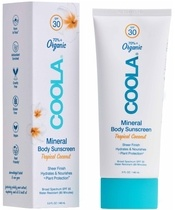 COOLA Mineral Body Sunscreen Tropical Coconut SPF30 - 148 ml