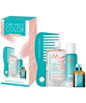 MOROCCANOIL® Care Meets Color Set - Rose Gold (Limited Edition)