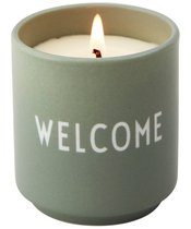 Design Letters Scented Candle 167 gr. - Welcome