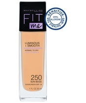 Maybelline Fit Me Luminous + Smooth Foundation - 250 Sun Beige