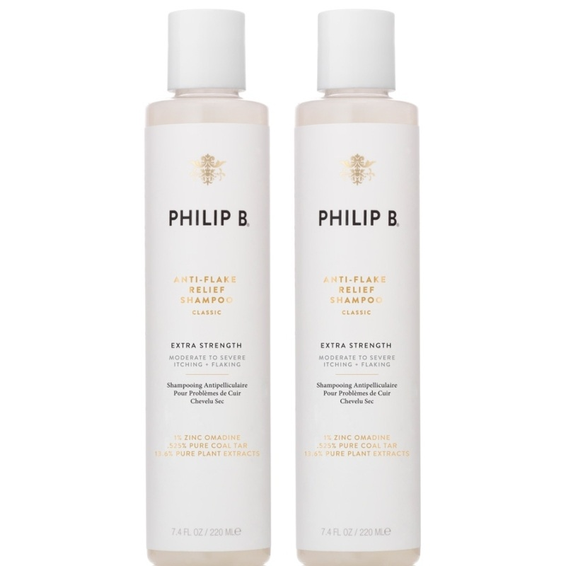 2 x Philip B Anti-Flake Relief Shampoo thumbnail